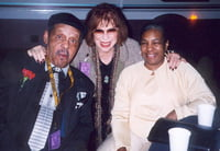 Ernie Andrews, Rosalee (Al Grey's widow), & Cecila (Ray Brown's widow)