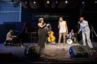The Three Jazz Vocal Teachers in concert at Centrum 2017: Niki Haris and Cedric Dent