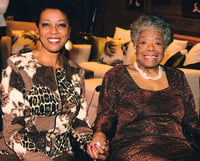 Dr. Maya Angelou - Orpheum Theatre, Vancouver 2008