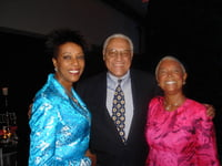 Mrs. Camille Cosby & Clifford Alexander - NYC