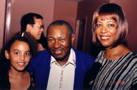My daughter Dalana and Freddy Cole Retro, 1998