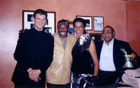 Peter Beets,  Alvin Queen and Reggie Johnson Bern, Switzerland, 2002