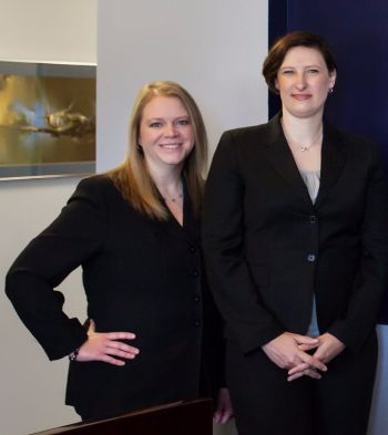 Nickloy & Higdon LLP Family Law Attorneys, Amy Higdon & Emily Barry